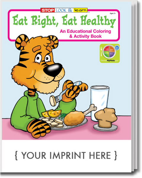 Eat Right Activity & Coloring Book