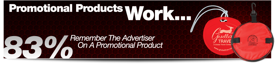 Promtional products work... 83% remember the advertiser in a promotional product